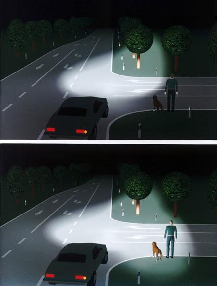 Zobacz różnicę, jaką dają światła kierunkowe (kliknij) /INTERIA.PL