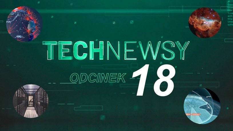 Zobacz TechNewsy odcinek 18 - filmowy przegląd najciekawszych wiadomości /Geekweek