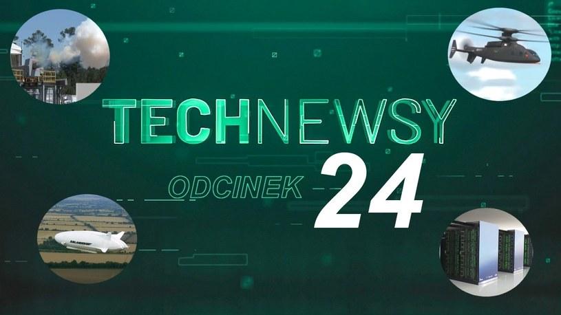Zobacz TechNewsy odcinek 24 - filmowy przegląd najciekawszych wiadomości /Geekweek