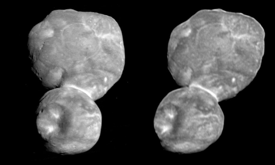 Zobacz Ultima Thule w 3D /NASA/Johns Hopkins University Applied Physics Laboratory/Southwest Research Institute/National Optical Astronomy Observatory /Materiały prasowe