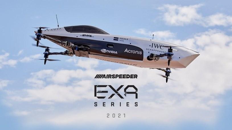 Zobacz w akcji Airspeedera, załogowy bolid wyścigowy. To nowy rodzaj sportów ekstremalnych /Geekweek