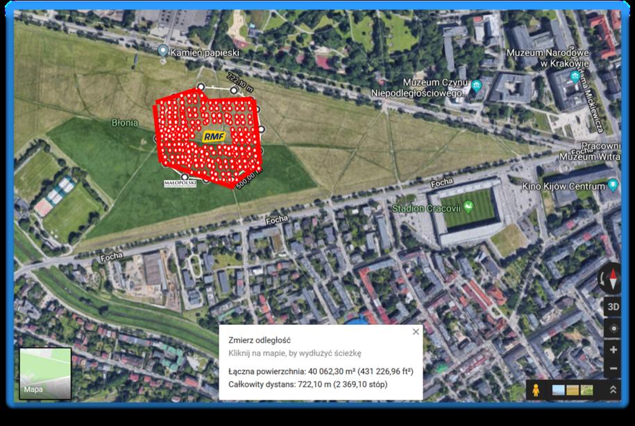 Zobacz, w którym miejscu powstanie Morze Flag w kształcie mapy Polski /RMF FM