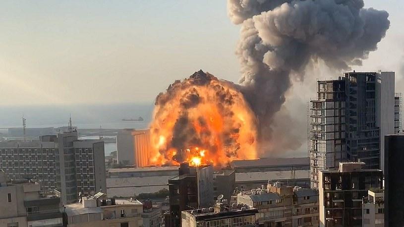 Zobacz wybuch w Bejrucie na najnowszym filmie w świetnej jakości 4K [FILM] /Geekweek