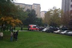 Zobacz zdjęcia z policyjnej akcji na Gocławiu:
