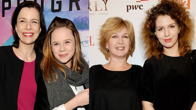 Zobaczcie, jak wyglądają nastoletnie córki Agaty Kuleszy i Agnieszki Pilaszewskiej /Agencja W. Impact