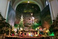 Zobaczcie największą w Europie szopkę wybudowaną wewnątrz świątyni!