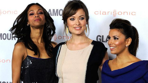 Zoe Saldana, Olivia Wilde i Eva Longoria. Jak się spisały? / fot. Frazer Harrison /Getty Images/Flash Press Media