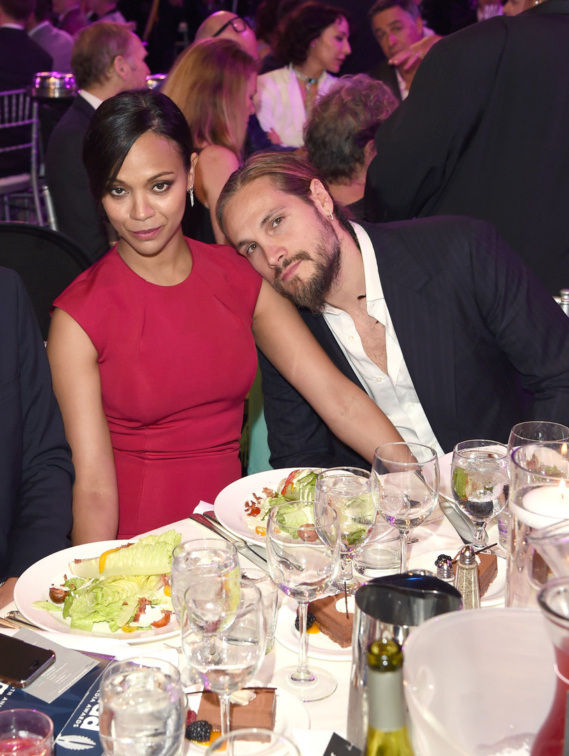 Zoe Saldana z mężem /Jason Merritt /Getty Images