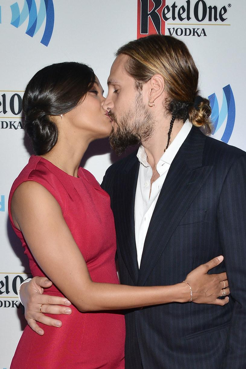 Zoe Saldana z mężem /Araya Diaz /Getty Images