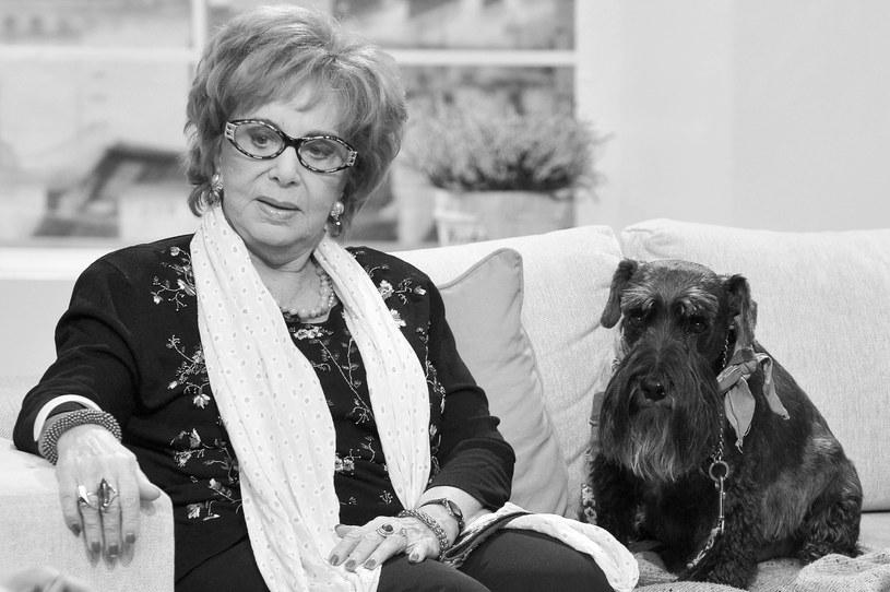 Zofia Czerwińska zmarła w wieku 85 lat, wszędzie zabierała swojego pupila /AKPA