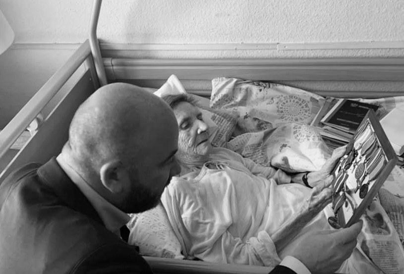 Zofia Dillenius ps. Jodła zmarła w wieku 92 lat /facebook.com