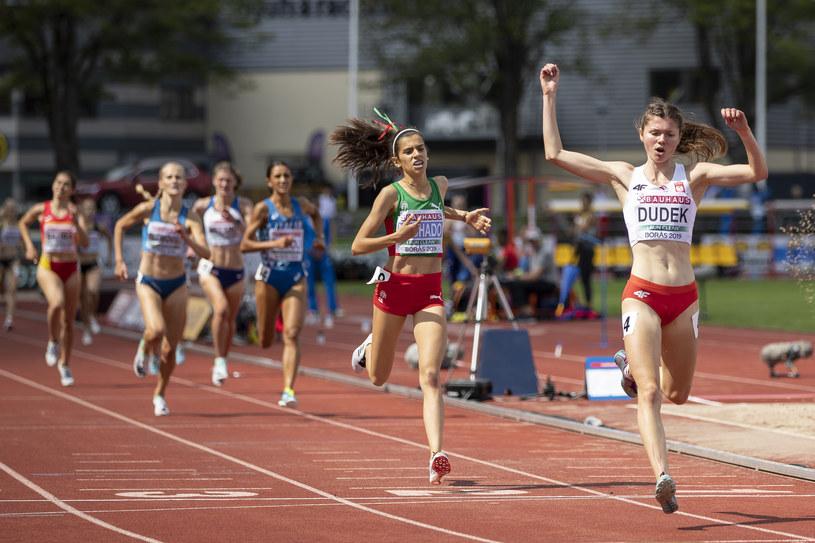 Zofia Dudek wygrała bieg na 3000 m /Getty Images