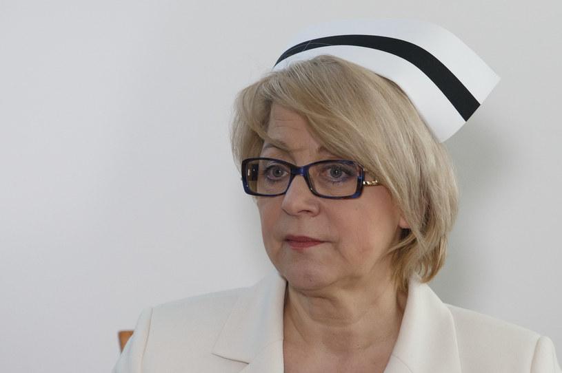 Zofia Małas, prezes Naczelnej Rady Pielęgniarek i Położnych. Fot Krystian Maj /FORUM