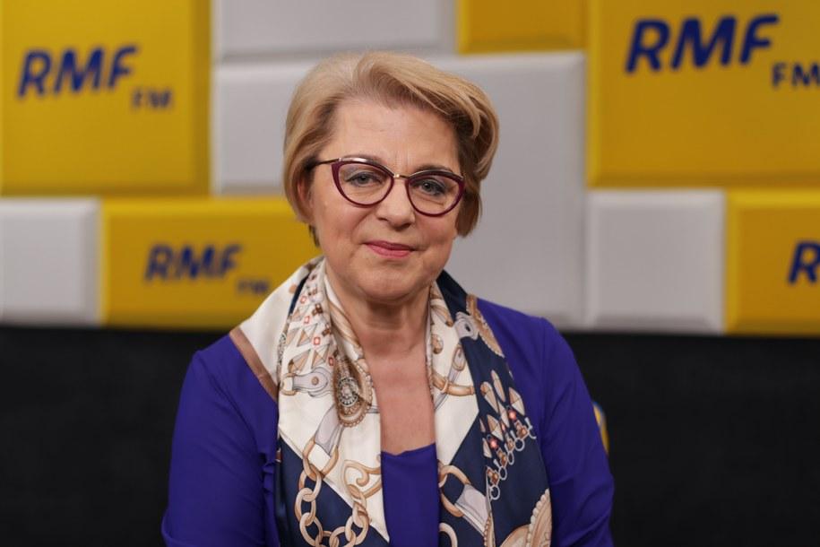 Zofia Małas – prezes Naczelnej Rady Pielęgniarek i Położnych /Karolina Bereza /RMF FM
