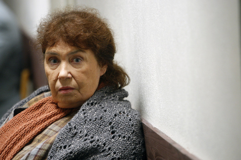 "Zofia Merle w filmie ""Piksele"" (2009) /AKPA"