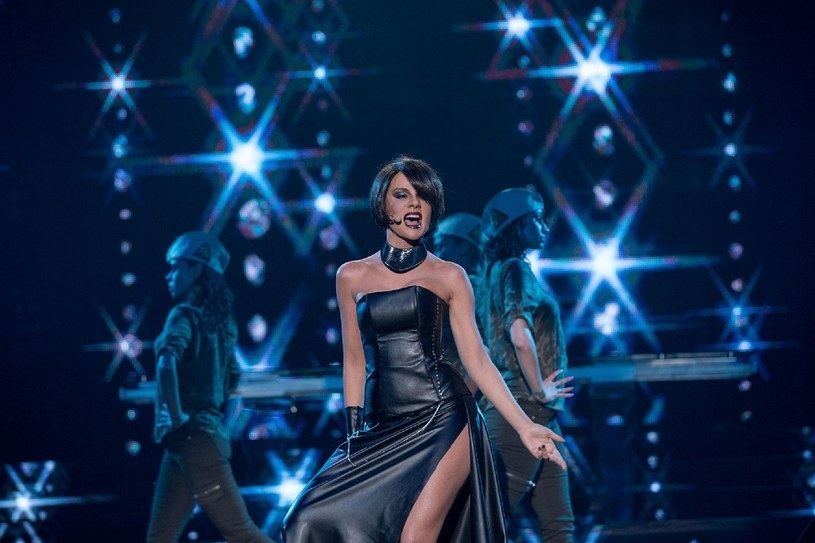 Zofia Nowakowska musiała zmierzyć się z legendą Whitney Houston /Polsat