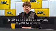 Zofia Romaszewska: Warto żyć w Polsce