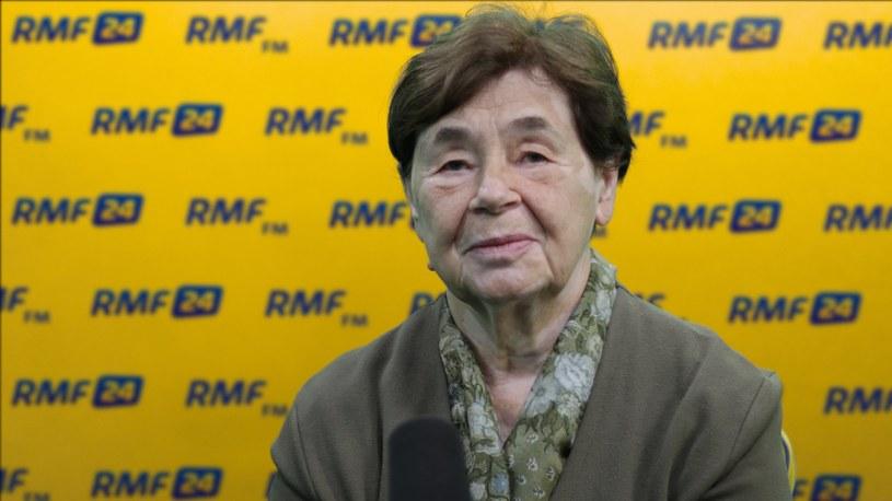Zofia Romaszewska /Michał Dukaczewski /RMF FM