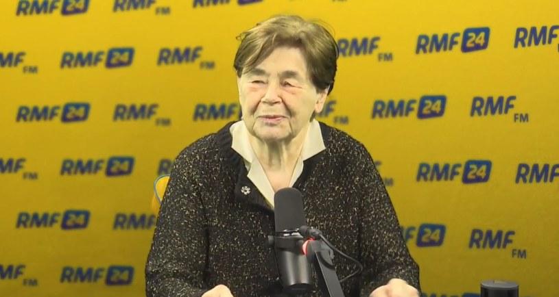 Zofia Romaszewska /RMF