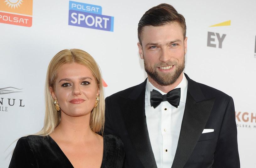 Zofia Zborowska i Andrzej Wrona podczas świat Bożego Narodzenia oficjalnie ogłosili, że są parą /Pawel Wrzecion /MWMedia