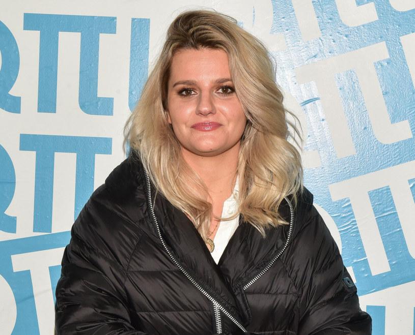 Zofia Zborowska jest fanką ciepłych, pikowanych płaszczy /Piotr Fotek /Reporter