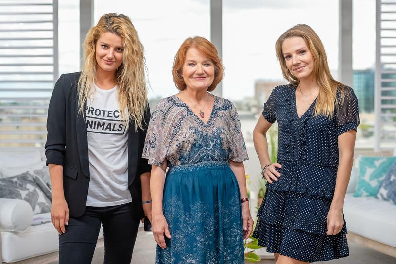 Zofia Zborowska, Maria Winiarska i Hanna Zborowska-Neves /East News
