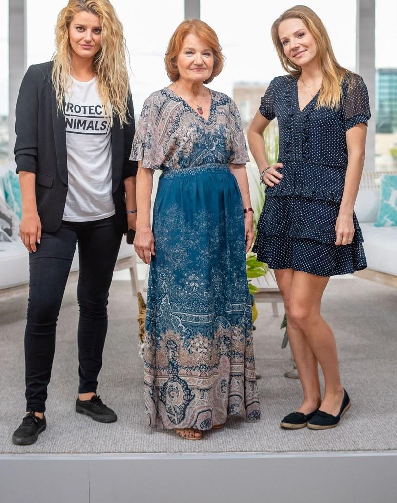 Zofia Zborowska, Maria Winiarska i Hanna Zoborowska-Neves /Tomasz Urbanek /East News