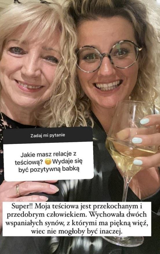 Zofia Zborowska pokazała zdjęcie z teściową! https://www.instagram.com/zborowskazofia/