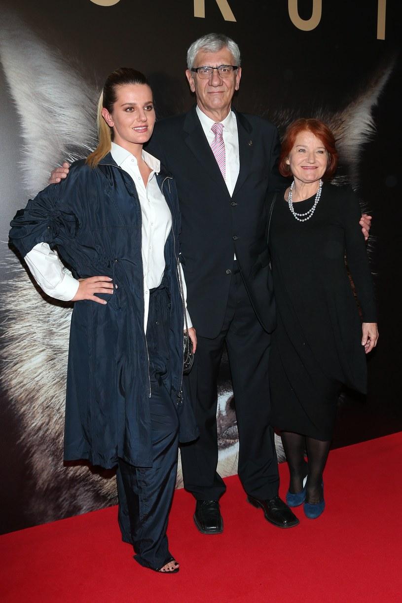 Zofia Zborowska, Wiktor Zborowski i Maria Winiarska /Paweł Wrzecion /MWMedia