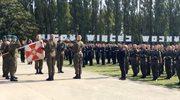 Żołnierska przysięga na  Westerplatte