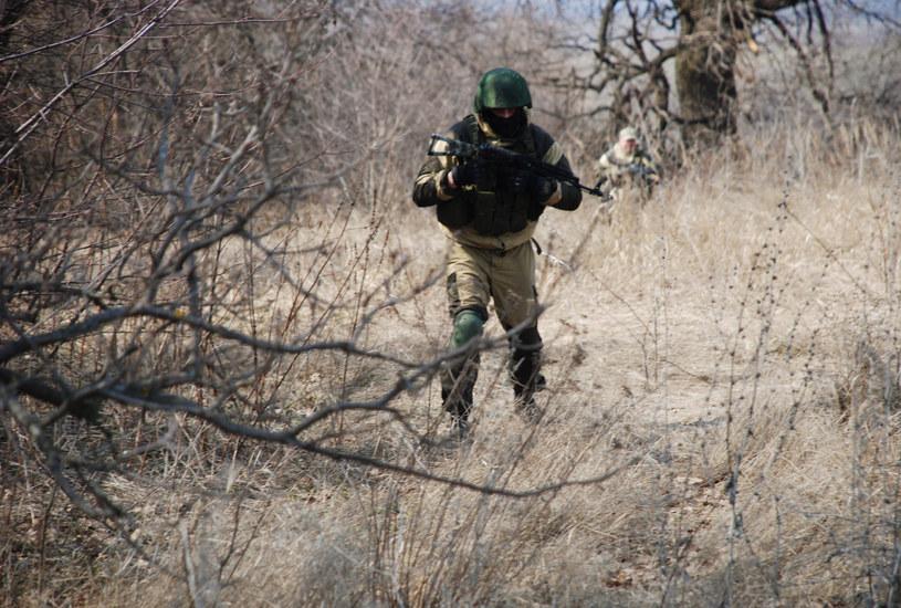 Żołnierz brygady Prizrak w Ługańsku, zdjęcie ilustracyjne /SPUTNIK Russia /East News