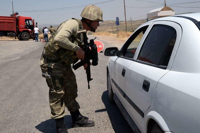 Żołnierz turecki, zdj. ilustracyjne / ILYAS AKENGIN /AFP