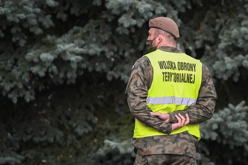 Żołnierz Wojsk Obrony Terytorialnej, zdjęcie ilustracyjne. / Jacek Dominski /REPORTER /Reporter