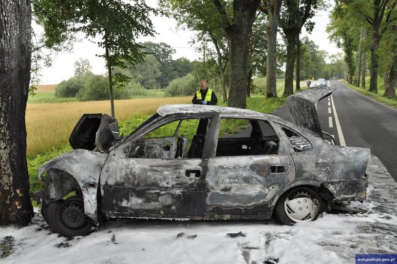 Żołnierz z Lidzbarka Warmińskiego uratował życie małżeństwu /Policja