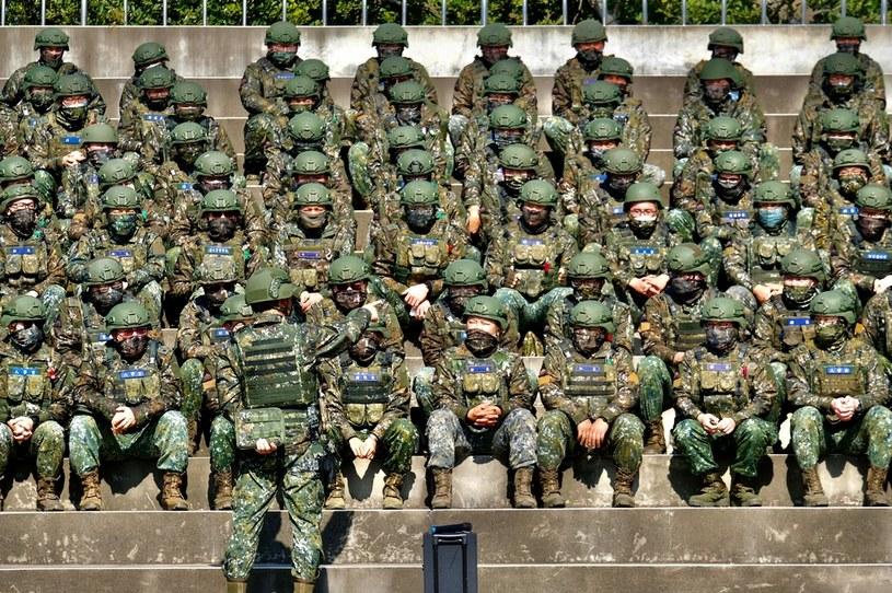 Żołnierze armii Tajwanu /AFP