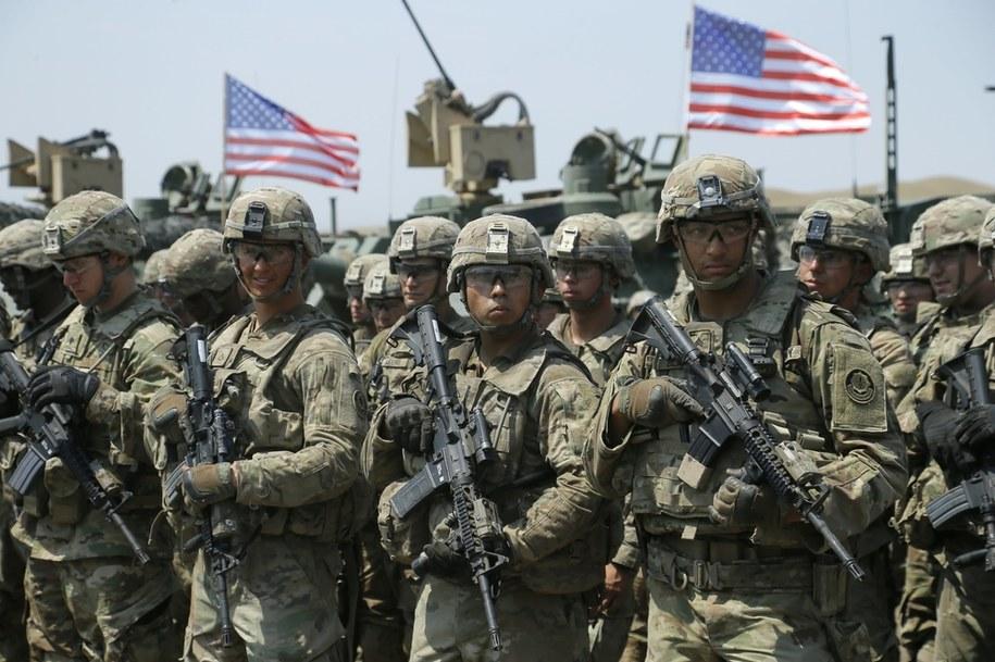 Żołnierze armii USA podczas międzynarodowych ćwiczeń w Gruzji, sierpień 2017 /ZURAB KURTSIKIDZE /PAP/EPA