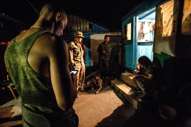 Żołnierze brygady Prizrak, zdjęcie ilustracyjne /Sadak Souici / Le Pictorium /Agencja FORUM