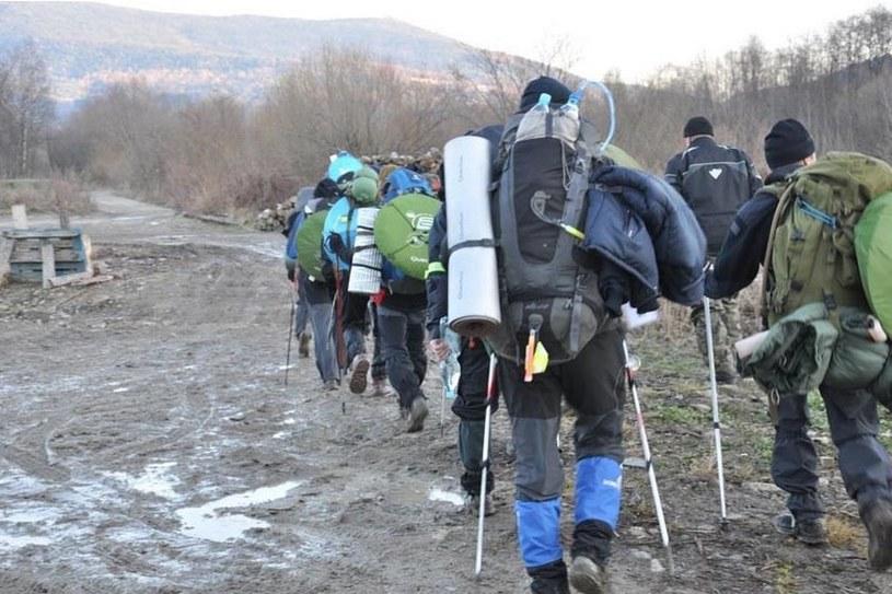 Żołnierze cały swój dobytek nieśli na plecach /Dowództwo Wojsk Specjalnych /INTERIA.PL/materiały prasowe