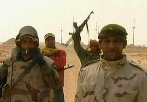 Żołnierze Kadafiego /AFP