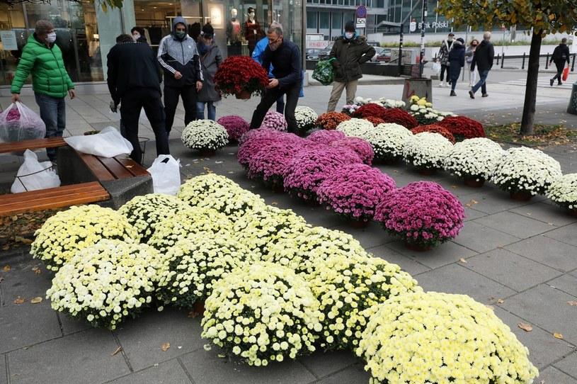 Żołnierze mają kupić tysiące kwiatów i w taki sposób wesprzeć sprzedawców - zapowiedział minister Błaszczak /Paweł Supernak /PAP