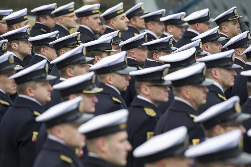 Żołnierze Marynarki Wojennej RP; zdj. ilustracyjne /Wojciech Stóżyk /Reporter