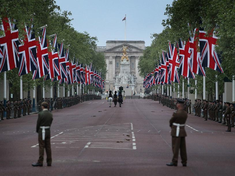 Żołnierze na ulicach Londynu podczas próby generalnej  /Getty Images/Flash Press Media