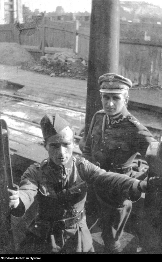 Żołnierze Szwadronu Przybocznego /Z archiwum Narodowego Archiwum Cyfrowego