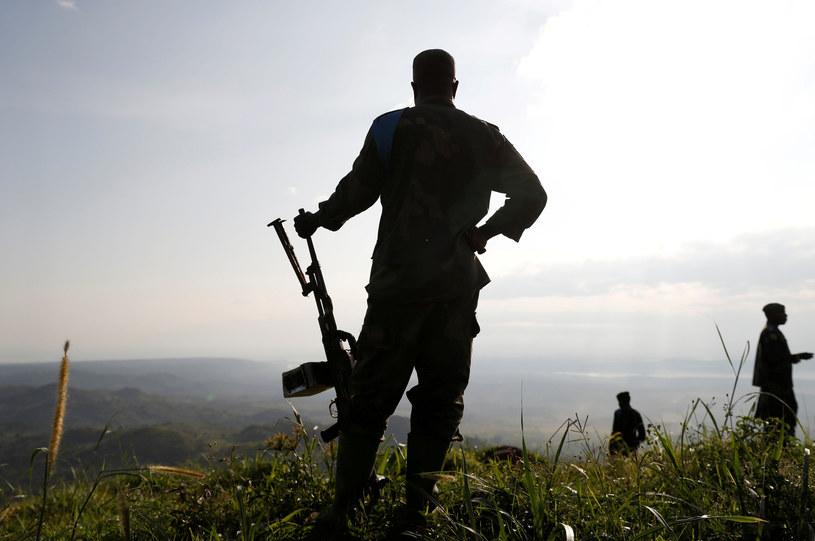 Żołnierze w Demokratycznej Republice Konga /Goran Tomasevic /Agencja FORUM