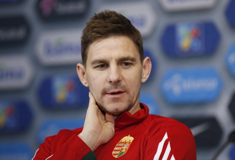 Zoltan Gera tu w stroju reprezentacji Węgier /AFP