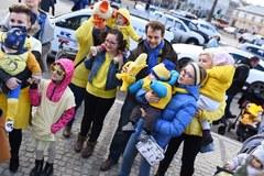 Żółte wózki od RMF FM rozdawaliśmy w Warszawie