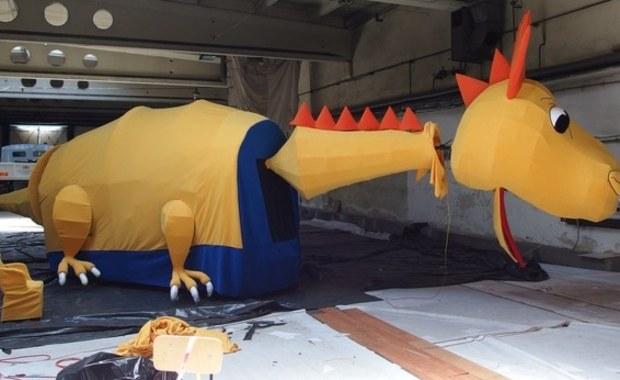 Żółto-niebieski Smok RMF FM pojawi się na Wielkiej Paradzie Smoków!