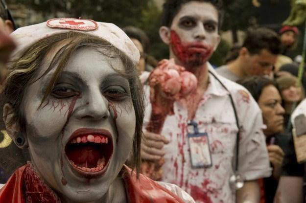 Zombie pójdą na wybory? /AFP