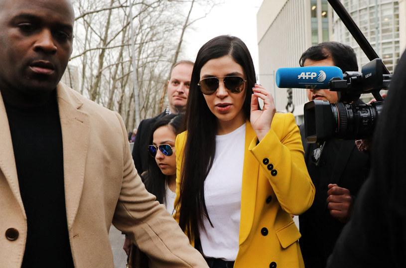 """Żona """"El Chapo"""" przyznała się do pomagania mężowi w prowadzeniu jego kartelu /AFP"""