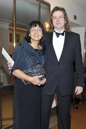 Żona Jacka Wszoły, Krystyna, również była lekkoatletką /  /AKPA